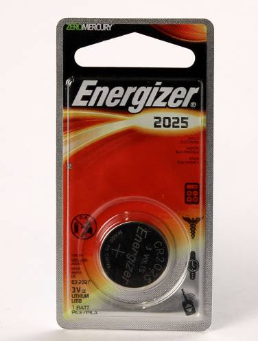 image of Battery Energizer Ecr2025Bp Lithium Watch And Calc Battery