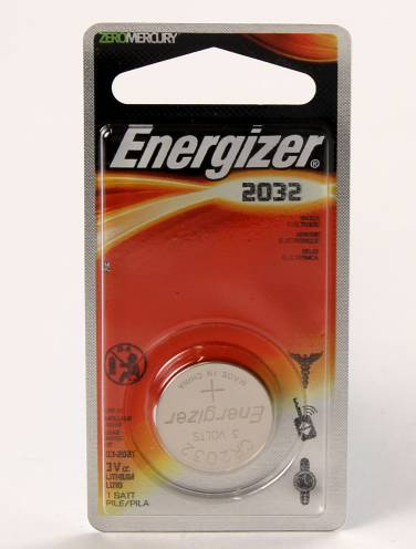 image of Energizer 2032 Lithium Battery For Watch Calculator