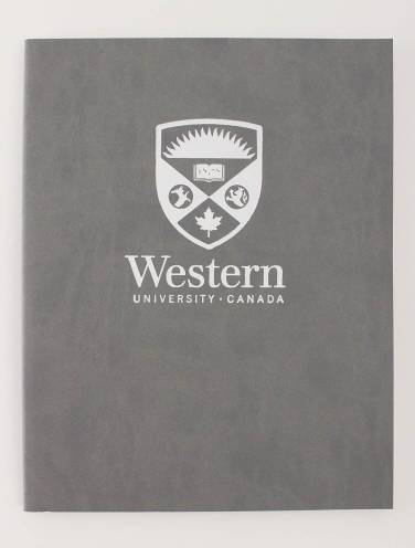 image of Euro Journal Grey with Stacked Logo In White
