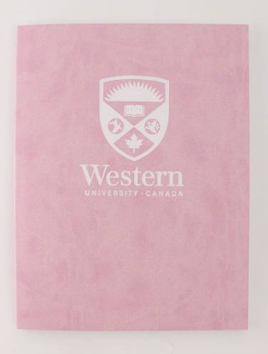 image of Euro Journal Pink with Stacked Logo In White