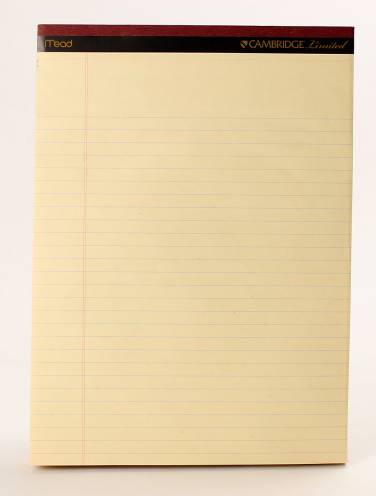 image of Cambridge Ivory Perf Pad 50 Sheets Per Pad