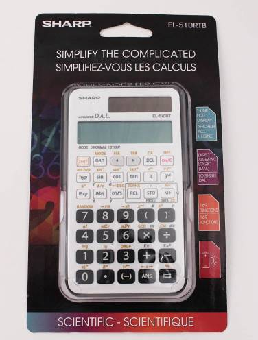 image of El-510Rtb Calculator Scientific 169 Function