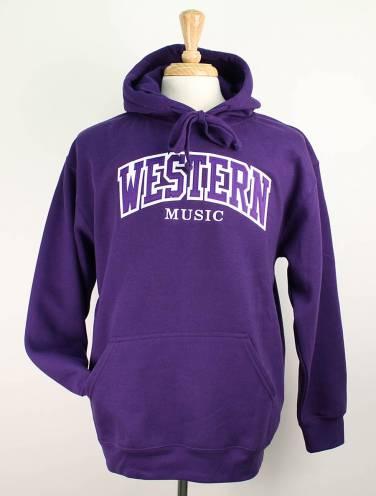image of Purple Western Music Faculty Hood