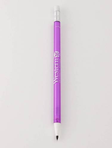 image of Purple .5mm Refillable Western Mech Pencil
