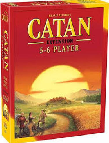 image of Catan Extension 5/6 Player  Cn3072