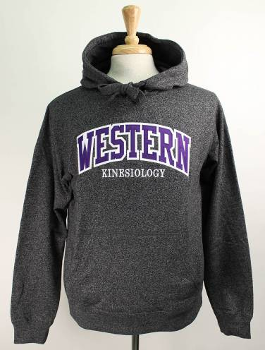 image of Black Salt & Pepper Western Kinesiology Hood
