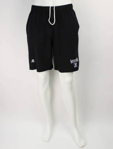 image of Black Western Mustangs Shorts