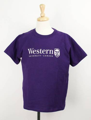 image of Purple Western Youth T-Shirt