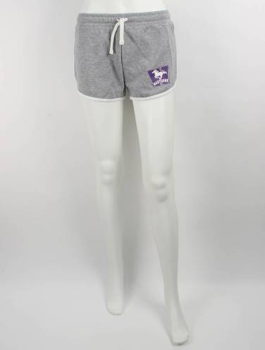 image of Grey Western Mustangs Shorts