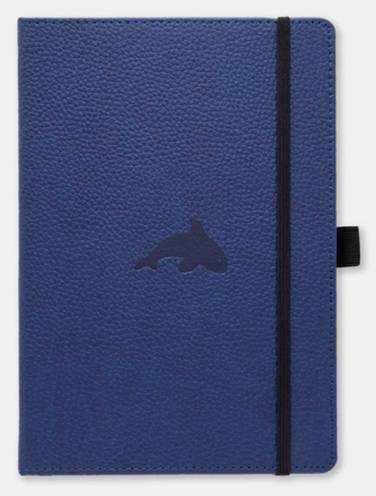 image of Dingbats Wildlife A5+ Blue Whale Notebook Lined