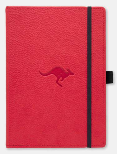 image of Dingbats Wildlife A5+ Red Kangaroo Notebook Plain