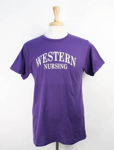 image of Purple Nursing Faculty T-Shirt