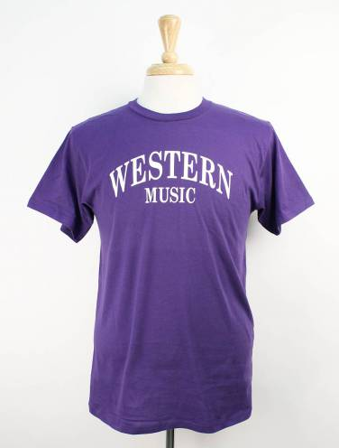 image of Purple Music Faculty T-Shirt