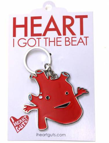 image of Heart Got The Beat Keychain