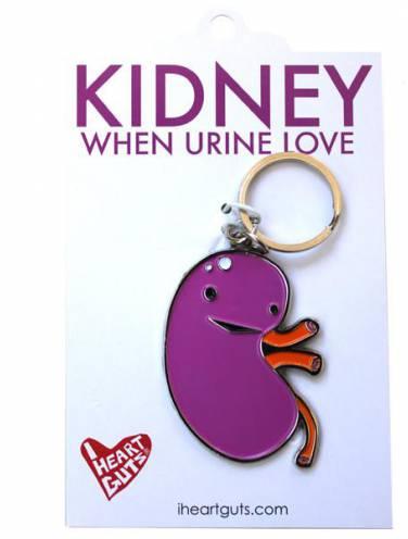 image of Kidney When Urine Keychain  *Op*