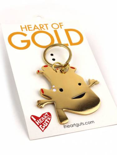 image of Heart Of Gold Keychain