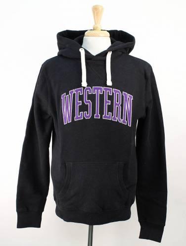 image of Black Western Hood