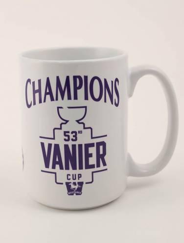 image of White 53rd Vanier Cup Champions Mug