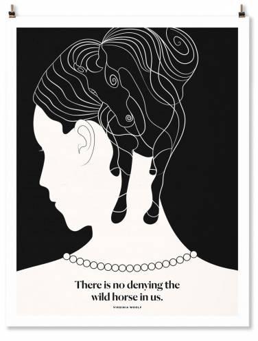 image of Virginia Woolf Art Print