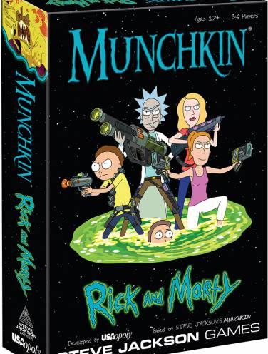 image of Munchkin Rick And Morty