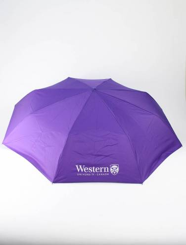 image of Purple Western University Umbrella