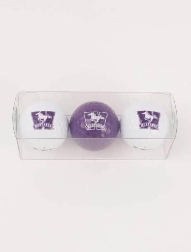 image of Western Mustangs Golf Balls