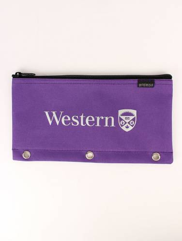 image of Purple Western Pencil Case