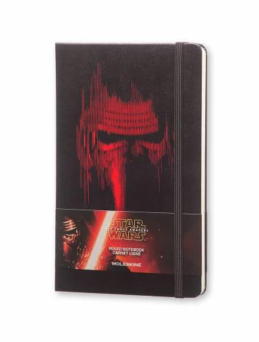 image of Star Wars Lead Villain Large Ruled Notebook Black