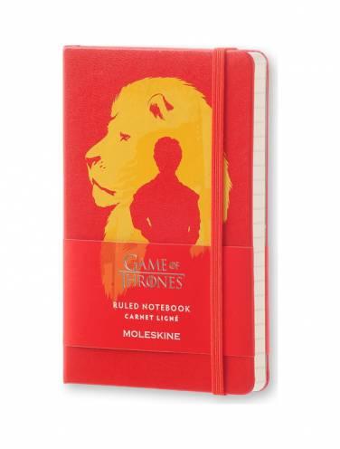 image of Game Of Thrones Pocket Ruled Notebook Orange *Op*