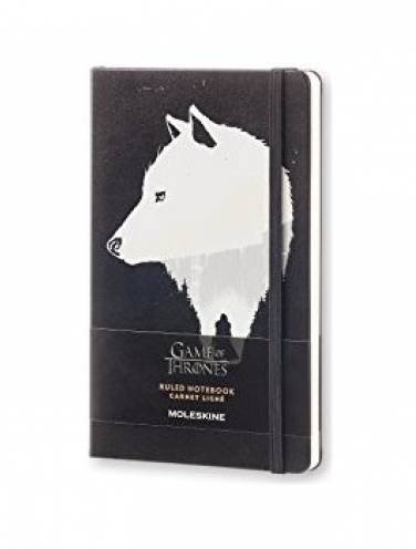 image of Game Of Thrones Large Ruled Notebook Black