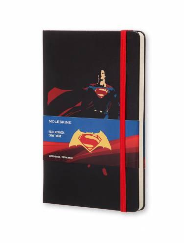 image of Superman Large Ruled Notebook