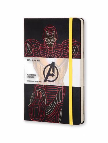image of Avengers Large Ruled Ironman