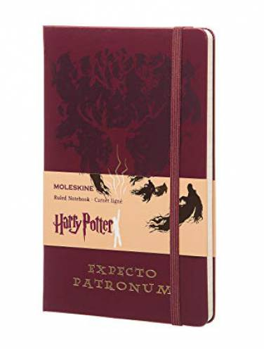 image of Harry Potter Large Ruled Notebook Red