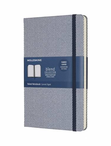 image of Blend Notebook Blue Large