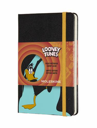 image of Looney Tunes Daffy Ruled Pocket Notebook