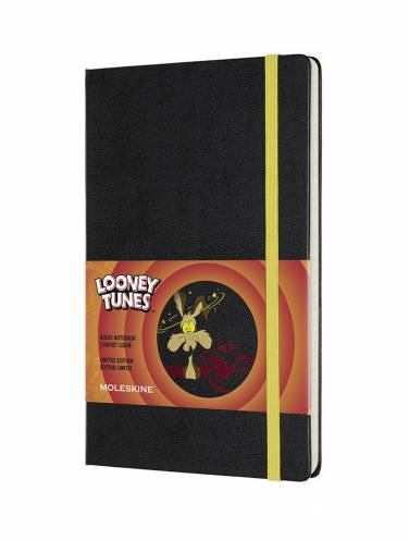 image of Looney Tunes Coyote Ruled Notebook Large