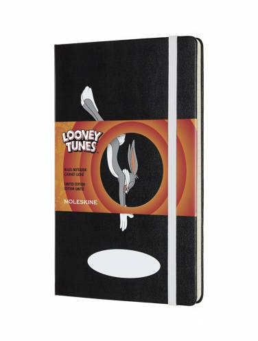 image of Looney Tunes Bugs Ruled Notebook Large