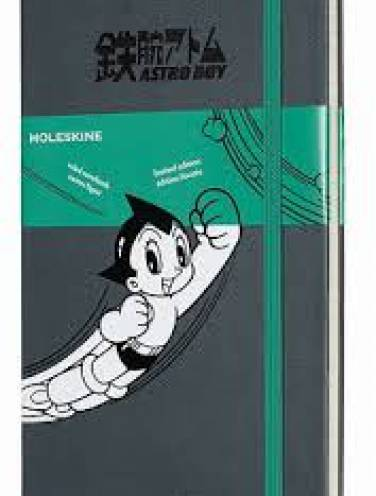 image of Astro Boy Ruled Notebook Large Grey
