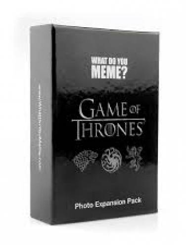 image of What Do You Meme Game Of Thrones Exp