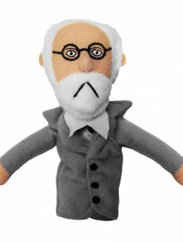 image of Sigmund Freud Magnetic Personalities Finger Puppet