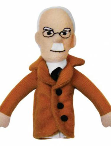 image of Carl Jung Magnetic Personalities Finger Puppet