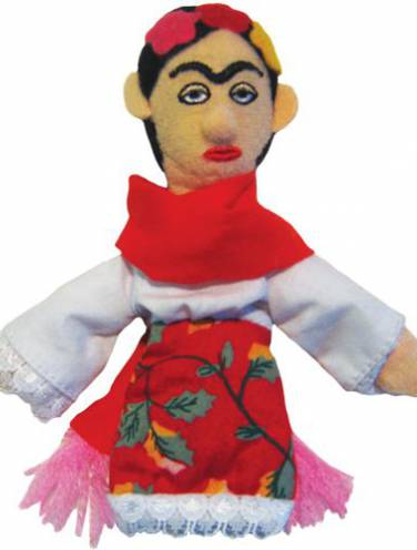 image of Frida Kahlo Magnetic Personalities Finger Puppet