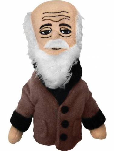 image of Charles Darwin Magnetic Personalities Finger Puppet