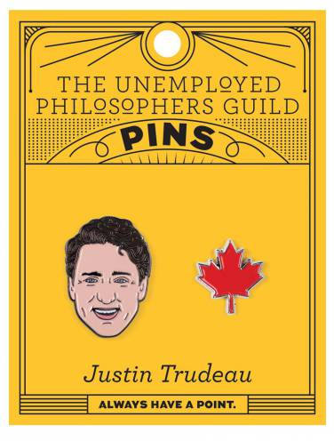 image of Justin Trudeau Pin