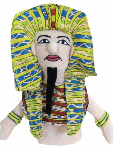image of King Tut Magnetic Personalities Finger Puppet