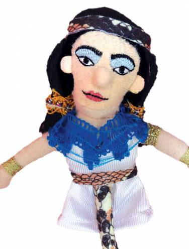 image of Cleopatra Magnetic Personalities Finger Puppet