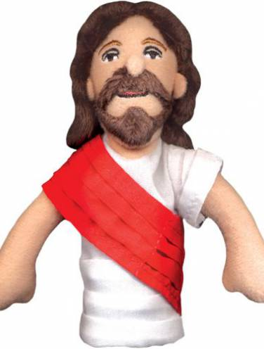 image of Jesus Magnetic Personalities Finger Puppet