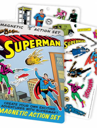 image of Superman Magnetic Action Set