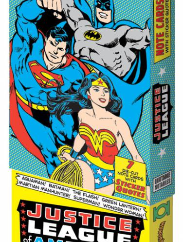 image of Justice League Note Cards Boxed Set
