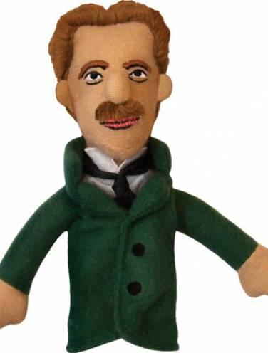 image of Nikola Tesla Magnetic Finger Puppet
